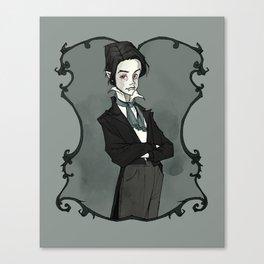 Little Vampyre Canvas Print