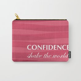 Red for Confidence Carry-All Pouch