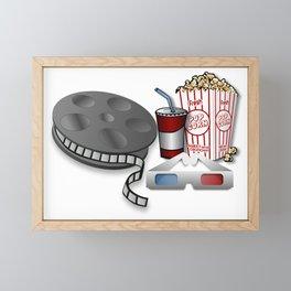 3D Cinema Framed Mini Art Print