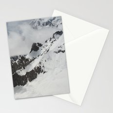 Clouds Shrouding Mont Blanc Stationery Cards