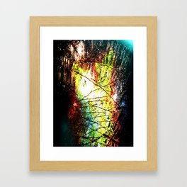 Footprint Framed Art Print