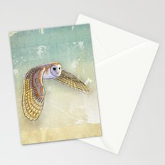 Barn Owl Labyrinth Stationery Cards
