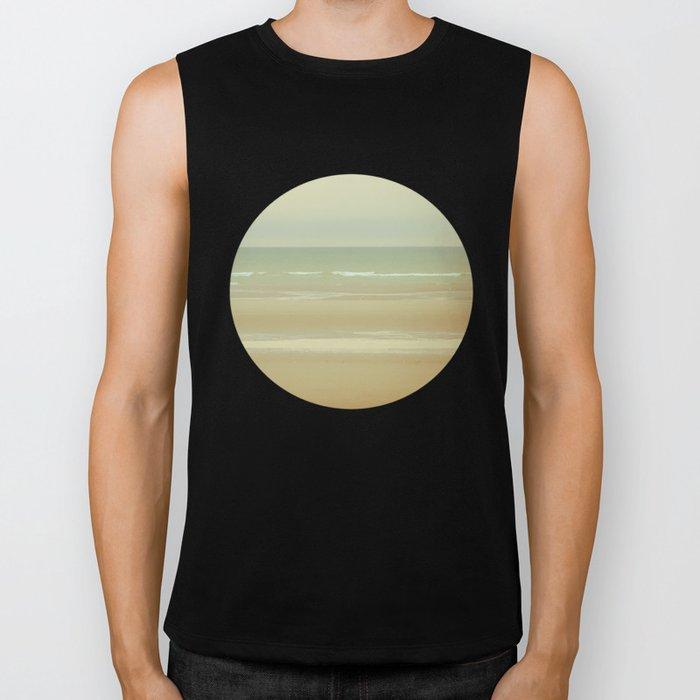 Sea, sky Biker Tank