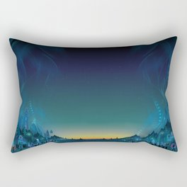 flow festival :: dawn Rectangular Pillow