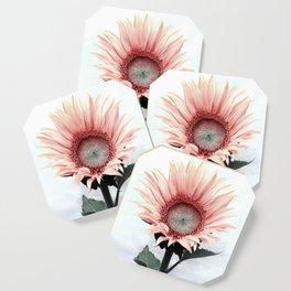 Pink Sunflower Coaster