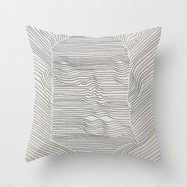 Line Man I Am Throw Pillow