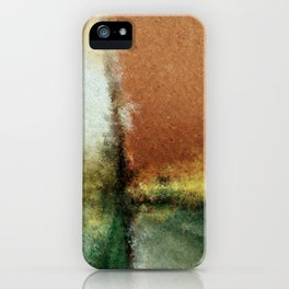 Focal Point Digital Painting iPhone Case