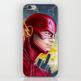 Barry Allan-THE FLASH iPhone Skin