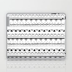 White&Black pattern Laptop & iPad Skin