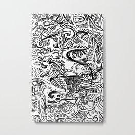 Dead End doodle Metal Print