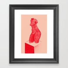 Red Venus Framed Art Print