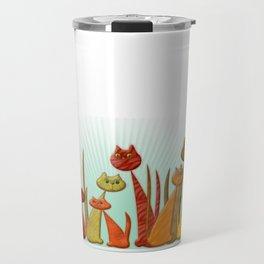 The Vector Cats Travel Mug
