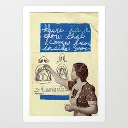 INSPECTION Art Print