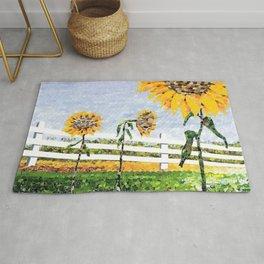Sunflower Trio Rug
