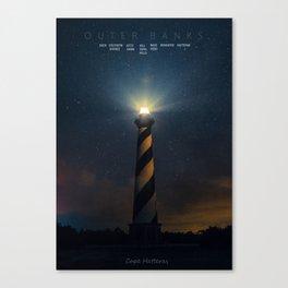 Cape Hatteras Light - Outer Banks - North Carolina.  Canvas Print