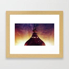 Darkest Light Framed Art Print