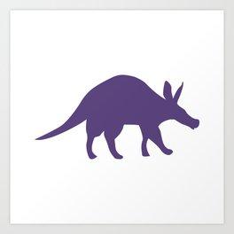 Aardvark Minimalism Art Print