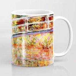 "Claude Monet ""Water lily pond, water irises"" Coffee Mug"