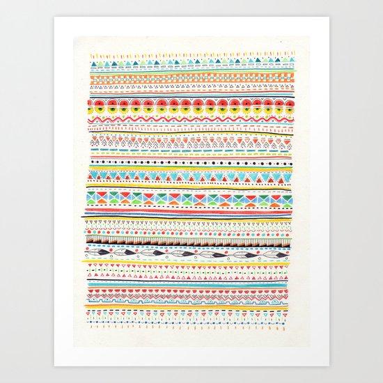 Pattern No.2 Art Print