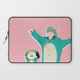 Dinosaur Chimmy (Pink Ver.) Laptop Sleeve