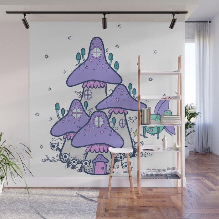 Fairy House Wall Mural