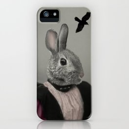Miss Bunny iPhone Case