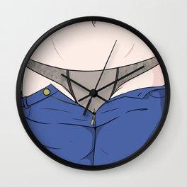 See Through Panties Wall Clock