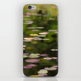 Monet interpretation iPhone Skin