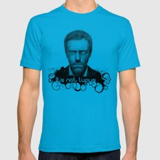 House MD It's Not Lupus Mens Fitted Tee Teal MEDIUM