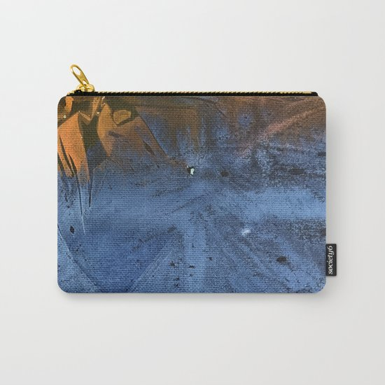 Ocean At Night Jean Copper Carry-All Pouch