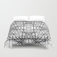 code Duvet Covers featuring Code 2 by Dood_L