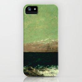 "Gustave Courbet ""The Mediterranean"" iPhone Case"