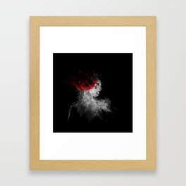 Exit Stage Left Framed Art Print