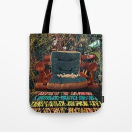 Psychedelic Cat - Thailand Tote Bag