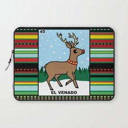 Christmas Loteria El Venado Laptop Sleeve