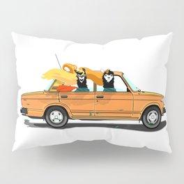 Llama on a Lada Pillow Sham