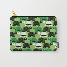 Turtle Pattern (Green/Black) Carry-All Pouch
