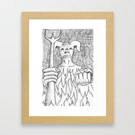 Devil in the Detail Framed Art Print