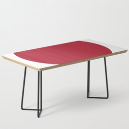 American Red Coffee Table