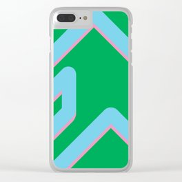 The form Clear iPhone Case
