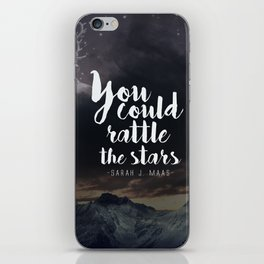 You could rattle the stars (stag included) iPhone Skin