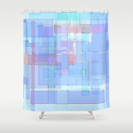 LightSquares Shower Curtain