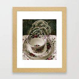 Fungal Tea Framed Art Print
