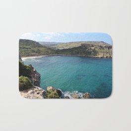 Mellieha Bay, Malta Bath Mat