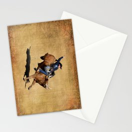 Bull Dust! - Rodeo Bull Riding Cowboy Stationery Cards