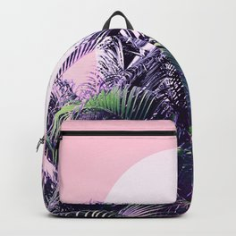 Jungle Sunrise - Ultra violet, green, pink and purple Backpack