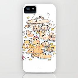Wild family series - Capybara iPhone Case