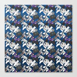 Game On- Blue Canvas Print