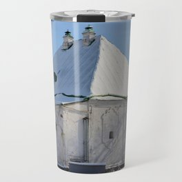 the old building of the Treasury Travel Mug