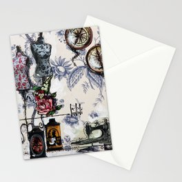COSTUME HOUSE - madewithunicorndust by Natasha Dahdaleh Stationery Cards